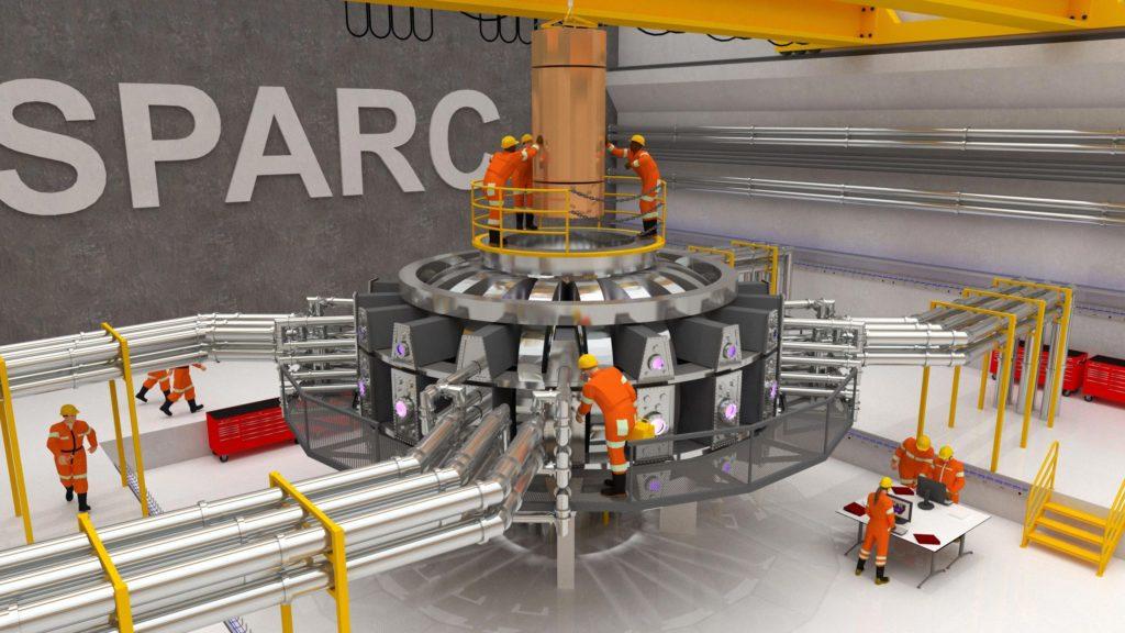 Visualizzazione del tokamak SPARC. (Immagine da PSFC)