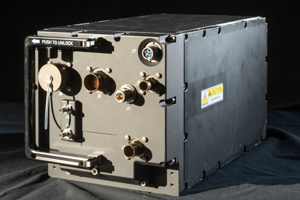 Radio RT200 - RT400 (Foto da Leonardo).  Leonardo sistema radio
