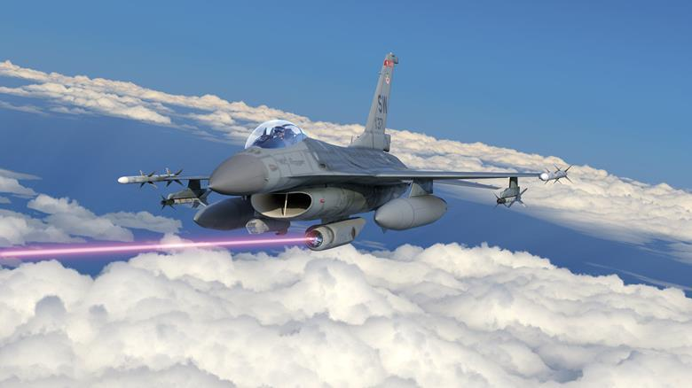 Sistema tattico di armi laser aviotrasportate di Lockheed Martin.