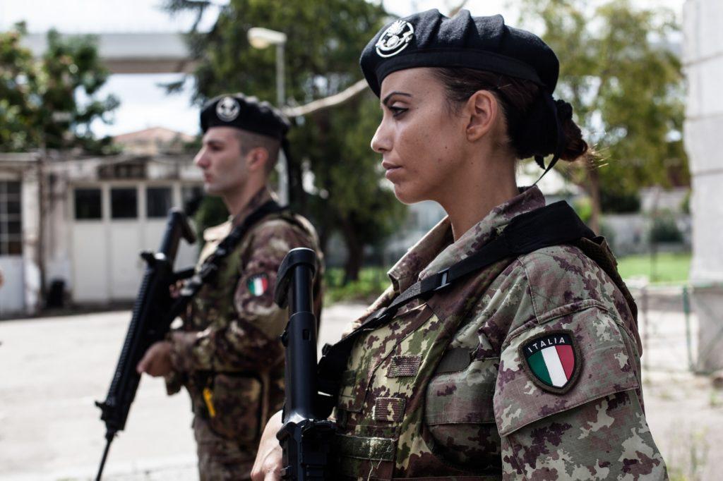 (Fonte: Esercito Italiano)  Tatiana Basilio  Tatiana Basilio