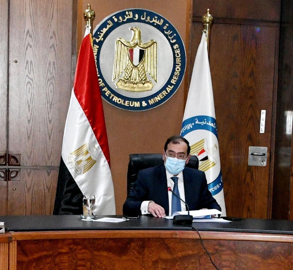 Il ministro del Petrolio egiziano, Tarek El-Molla (Foto: account Facebook Ministero del Petrolio egiziano).  EastMed Gas Forum