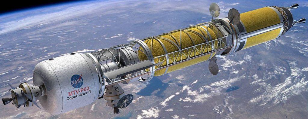 La Nuclear Thermal Propulsion (NTP) consente un'esplorazione dettagliata del sistema solare. (Fonte: NASA)