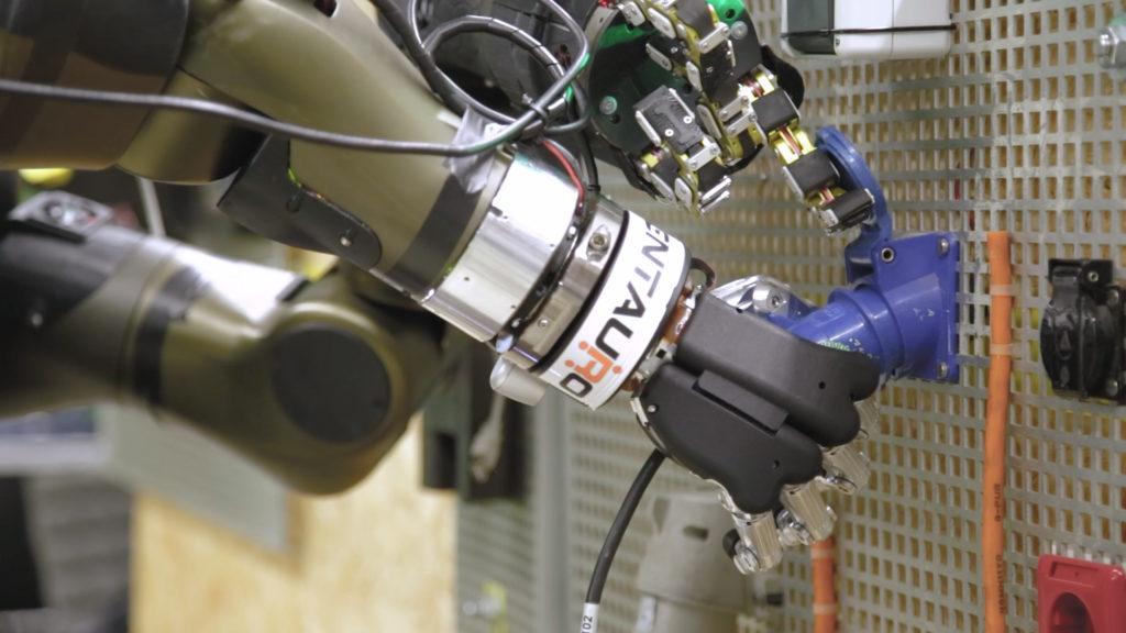 Dettaglio del robot Centauro sviluppato da IIT. (Fonte: IIT)