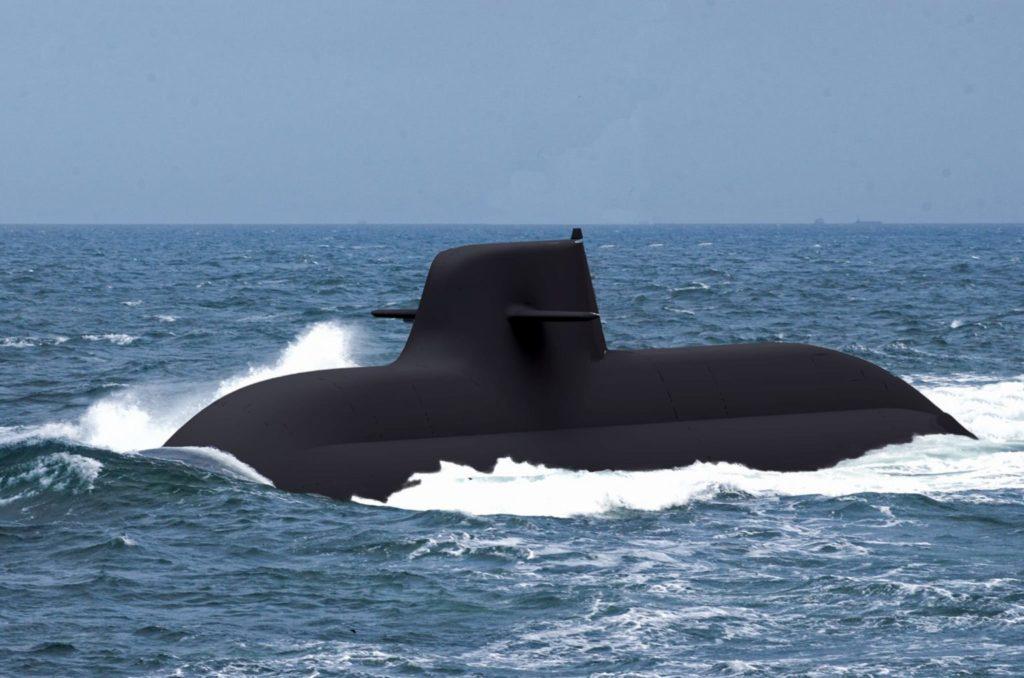 Sottomarino della Marina Militare italiana. (Fincantieri)