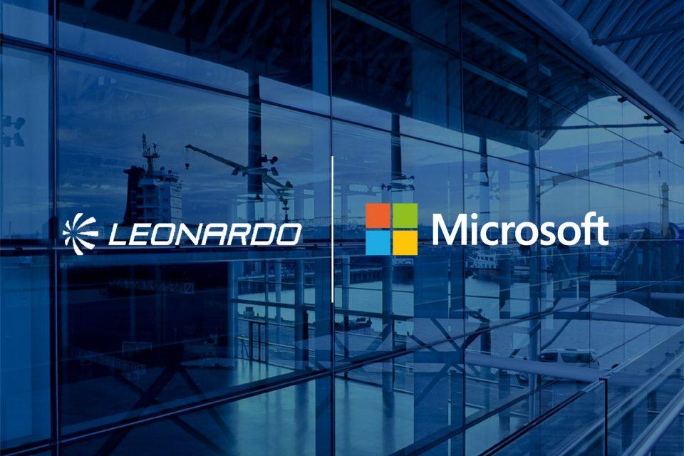 Leonardo e Microsoft uniscono forze e competenze per contribuire allo sviluppo digitale del Paese all'insegna della sicurezza cibernetica e dell'innovazione tecnologica. (Fonte: Leonardo)