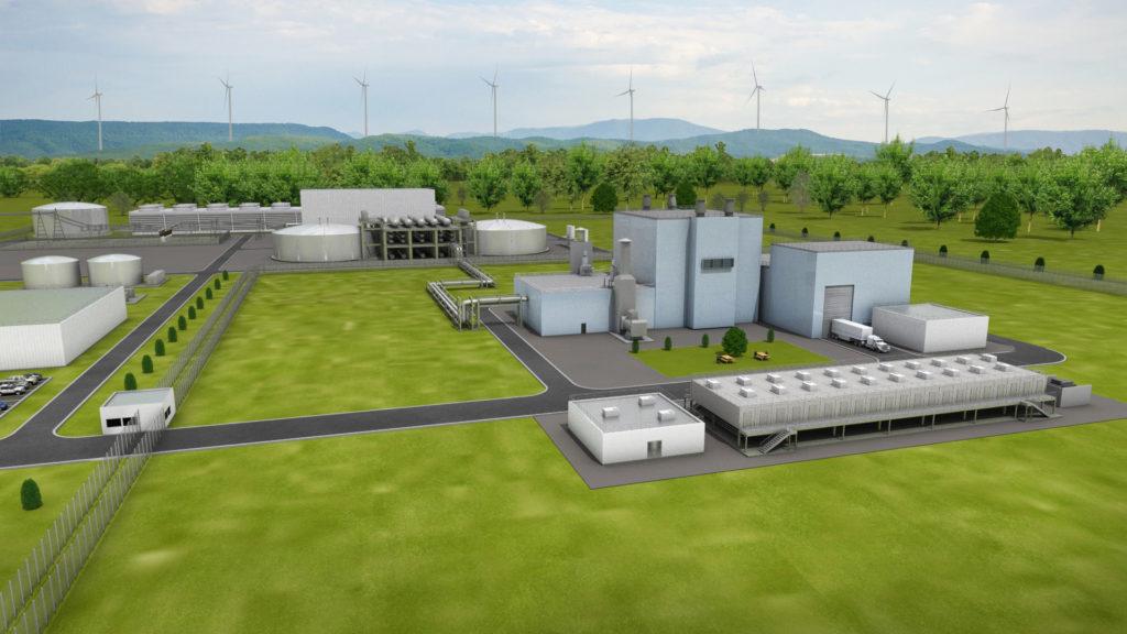 (Fonte: TerraPower)  reattore