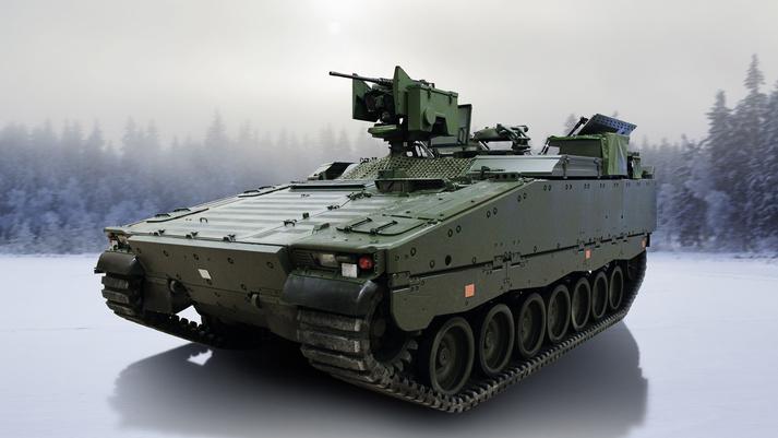Il CV90. (Fonte: BAE Systems)