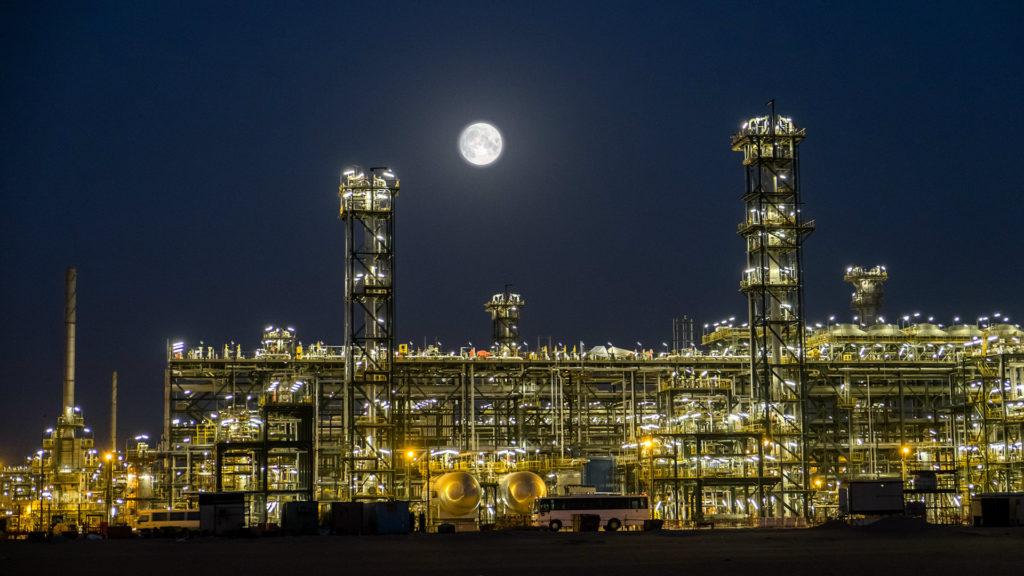 L'impianto di Shah Gas.