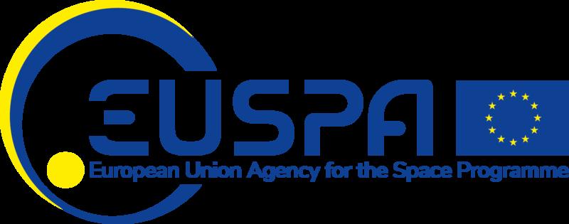 Il logo di EUSPA.