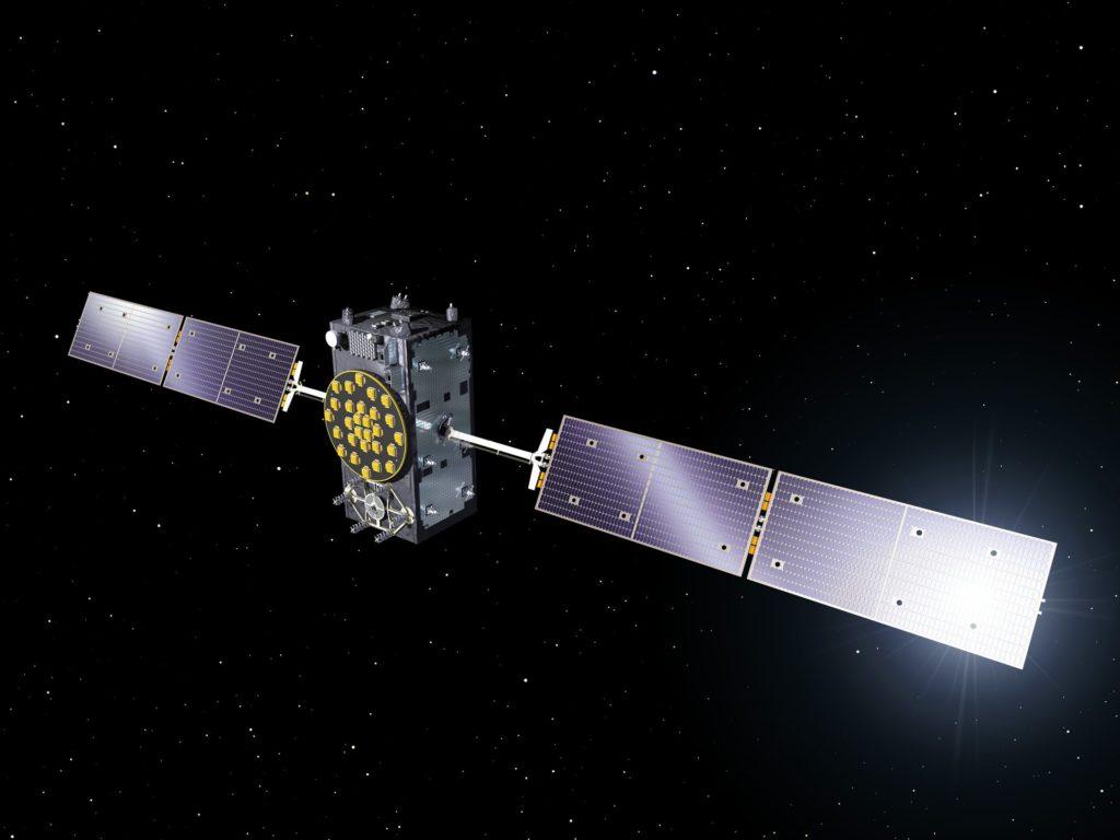 Il satellite Galileo. (Fonte: ESA)