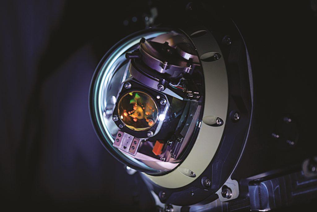 La contromisura DIRCM (Directed Infrared Countermeasure) Miysis di Leonardo. (Fonte: Leonardo)