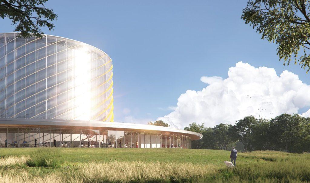 General Fusion costruirà e gestirà il suo Fusion Demonstration Plant (FDP), presso il Campus dell'UKAEA a Culham (Inghilterra) per dimostrare la tecnologia proprietaria Magnetized Target Fusion (MTF). (Fonte: General Fusion)