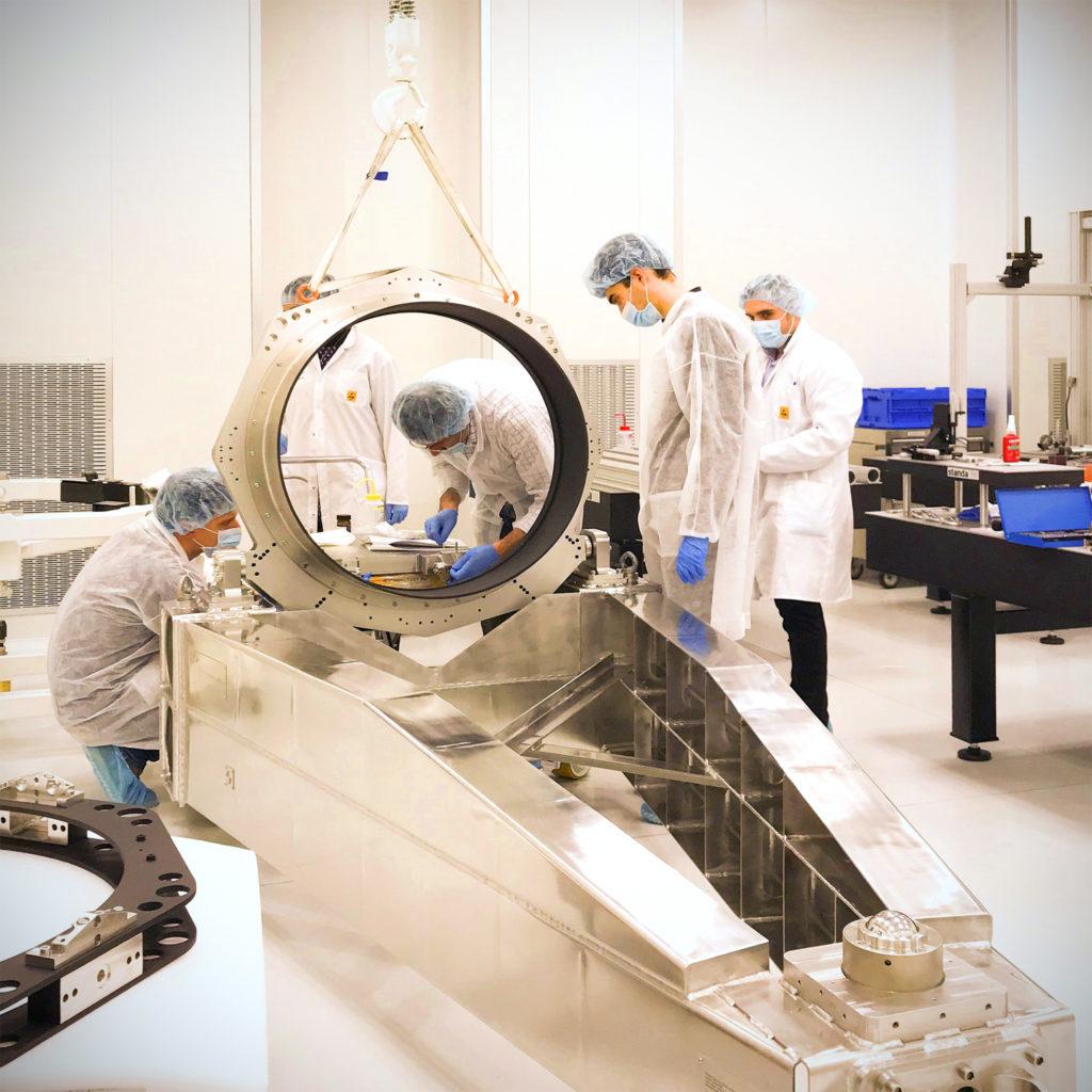 Thales Alenia Space e Officina Stellare hanno annunciato un accordo di collaborazione il 20 luglio 2021. (Fonte: TAS)