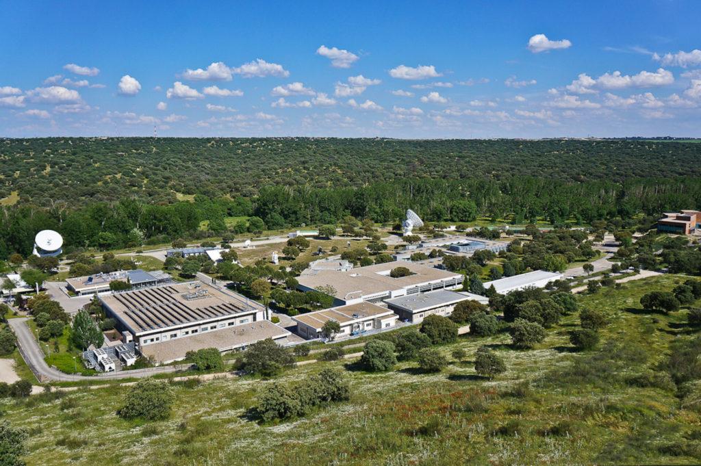 Il complesso dell'European Space Astronomy Centre (ESAC). (©️ ESA)