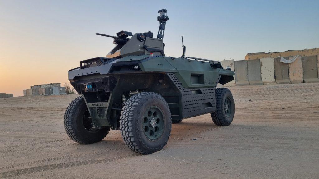 """Il REX MK II incorpora sensori elettro-ottici e radar per la """"situationale awareness"""". (Fonte: IAI)"""